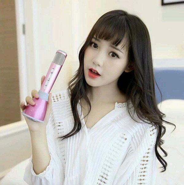 Micro karaoke kiêm loa bluetooth Tuxun K068