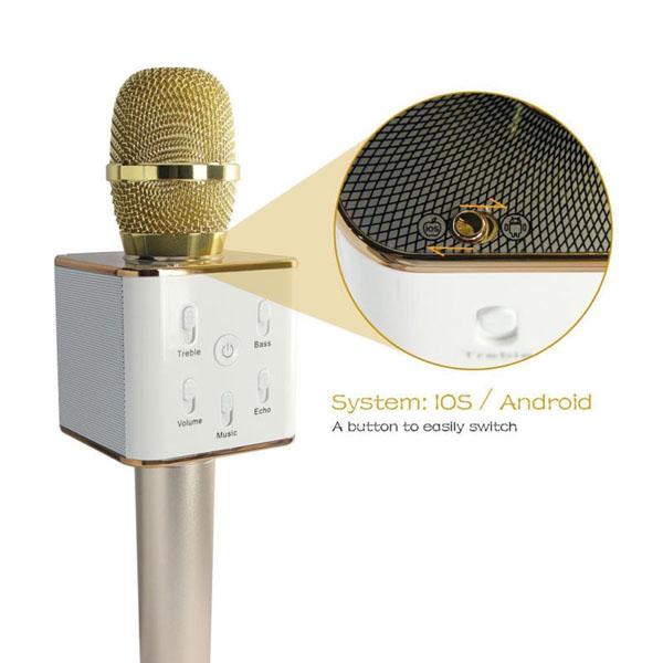 Micro hát karaoke kiêm loa bluetooth Tuxun Q7