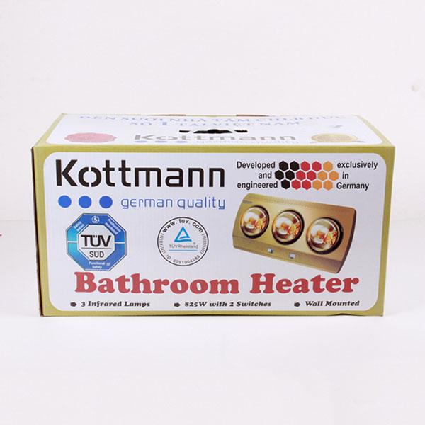 Bán buôn đèn sưởi nhà tắm Kottmann loại 3 bóng