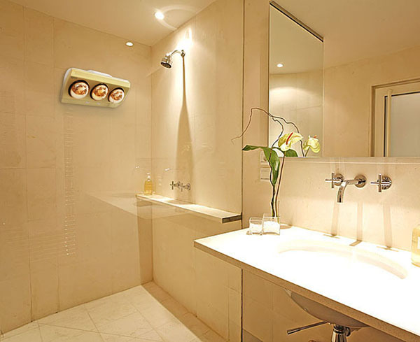 Đèn sưởi nhà tắm Kottmann loại 3 bóng