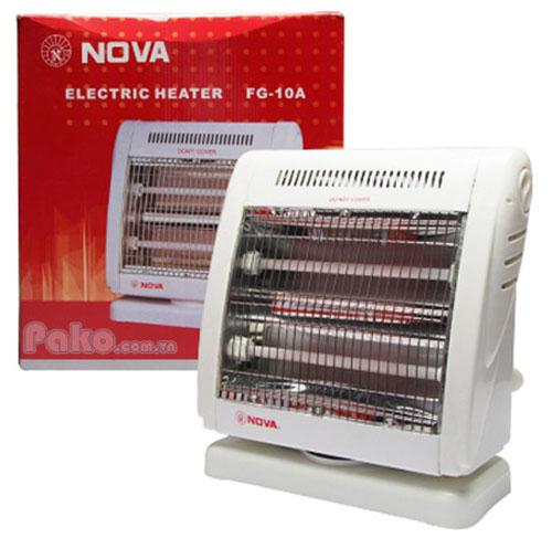 Quạt sưởi điện Nova FG-10A tiện dụng