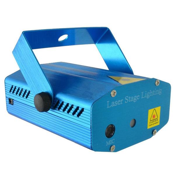 Đèn trang trí stage laser light cảm biến theo điệu nhạc