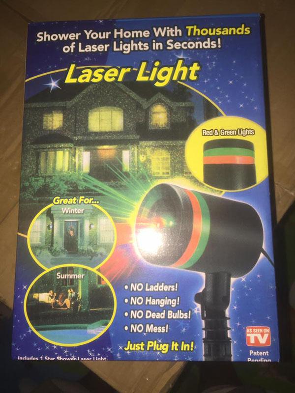 Đèn chiếu sao ngoài trời Laser Light
