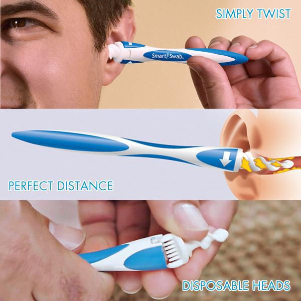 Dụng cụ lấy ráy tai smart swab tiện dụng