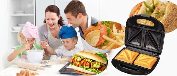 Máy nướng bánh Hot Dog Nikai tiện dụng
