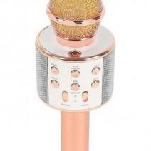 Mic karaoke kèm loa bluetooth wster ws-858