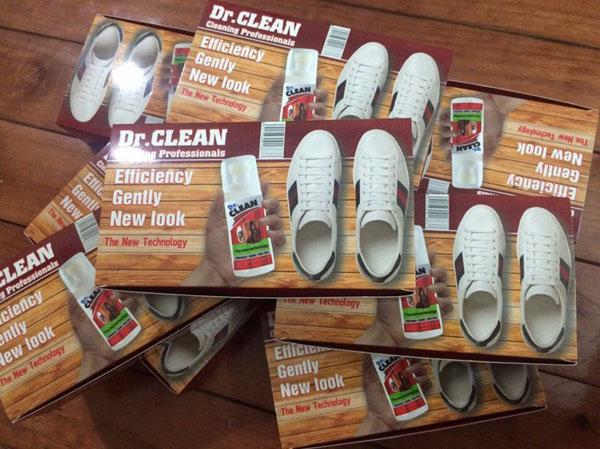 Bộ làm sạch đồ da Dr.clean tiện dụng