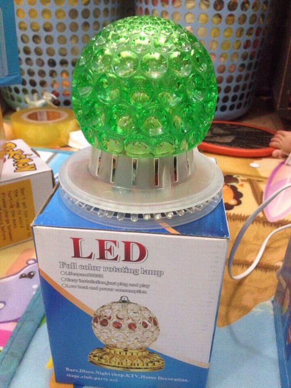 Đèn led trang trí full color rotating lamp