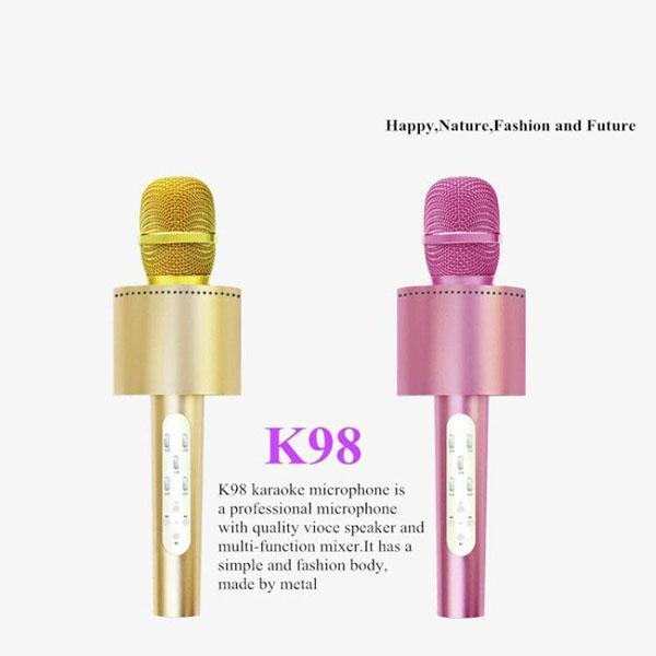 Mic hát karaoke kèm loa KTV-K98