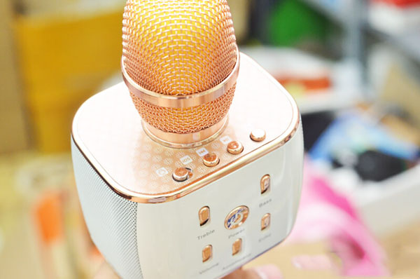 Micro kèm loa Magic karaoke K10