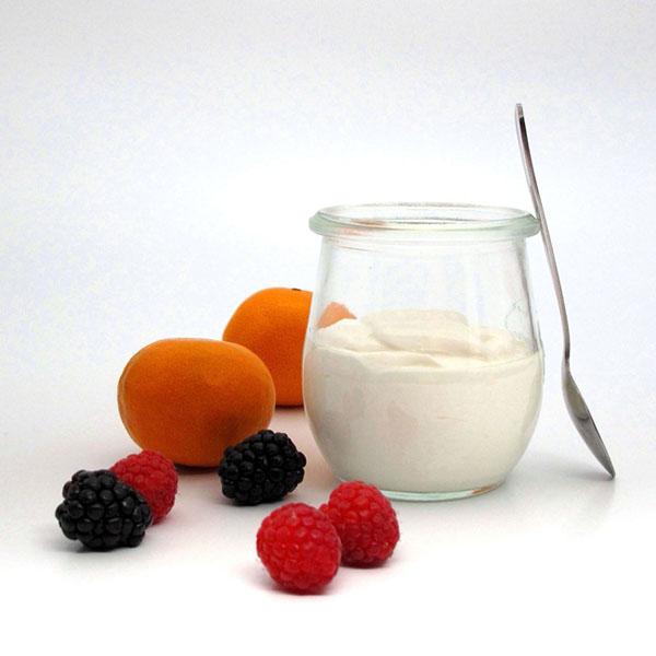 Hũ thủy tinh đựng sữa chua tiện dụng