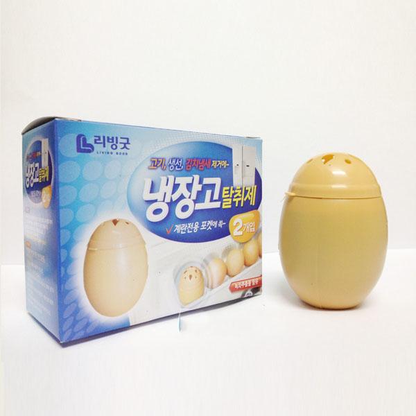 Khử mùi tủ lạnh hình trứng Living Good Hàn Quốc