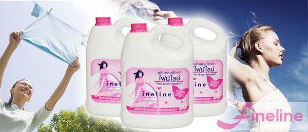 Nước giặt Fineline Thái Lan can 3000ml