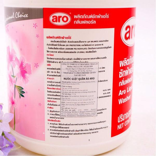 Nước giặt Aro Thái Lan 3500ml chính hãng