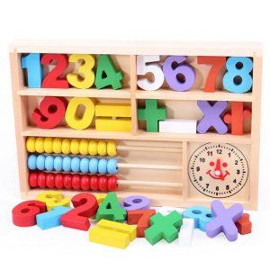 Bảng tính hộp số thông minh cho bé