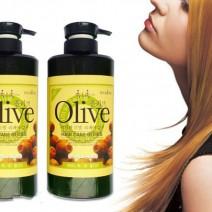 Bộ dầu gội và xả Olive 800ml Hàn Quốc siêu mượt
