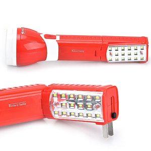 Đèn pin sạc kiêm đèn bàn đa năng KM-8730