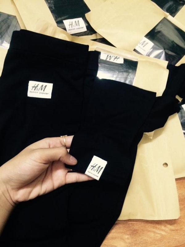 Quần legging H&M tôn dáng cho bạn gái