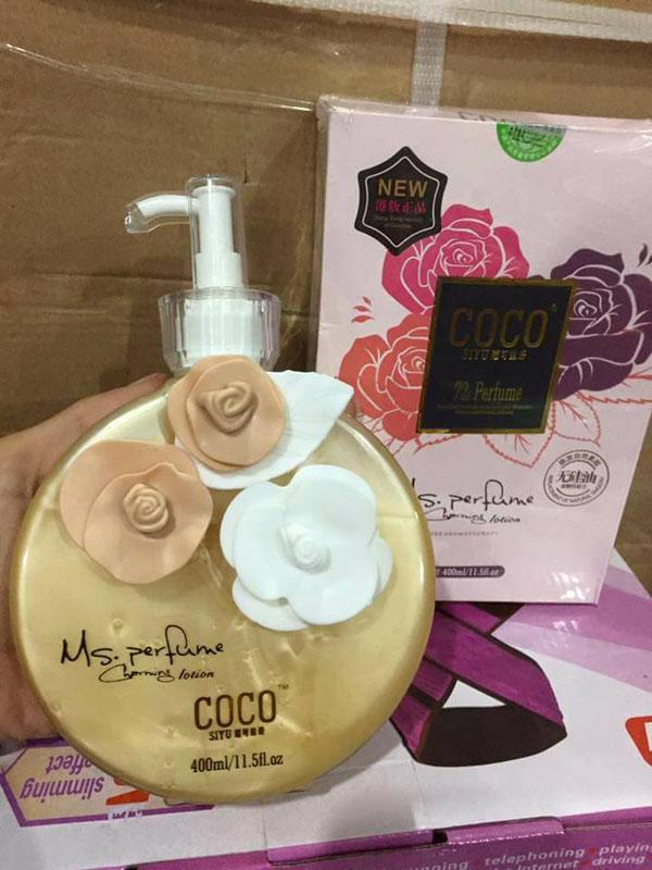 Sữa tắm hương nước hoa Coco Perfume 400ml