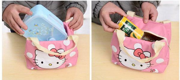Túi giữ nhiệt đựng đồ ăn tiện dụng
