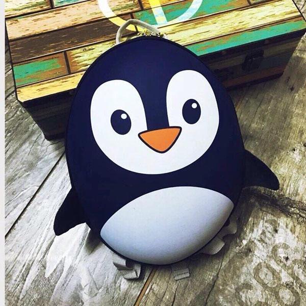 Balo chim cánh cụt đáng yêu cho bé