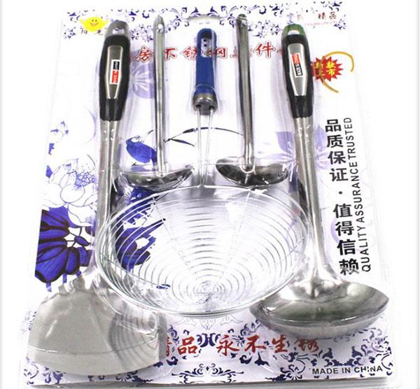 Bộ dụng cụ làm bếp 5 món tiện dụng