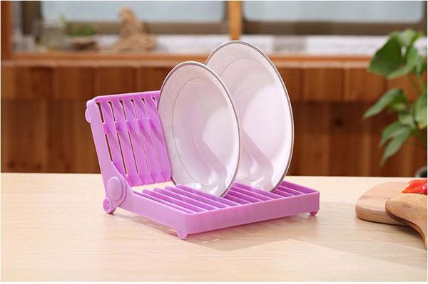 Kệ úp đĩa gấp gọn tiện dụng