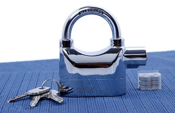 Bán buôn ổ khóa chống trộm Kinbar Alarm Lock 110DBA