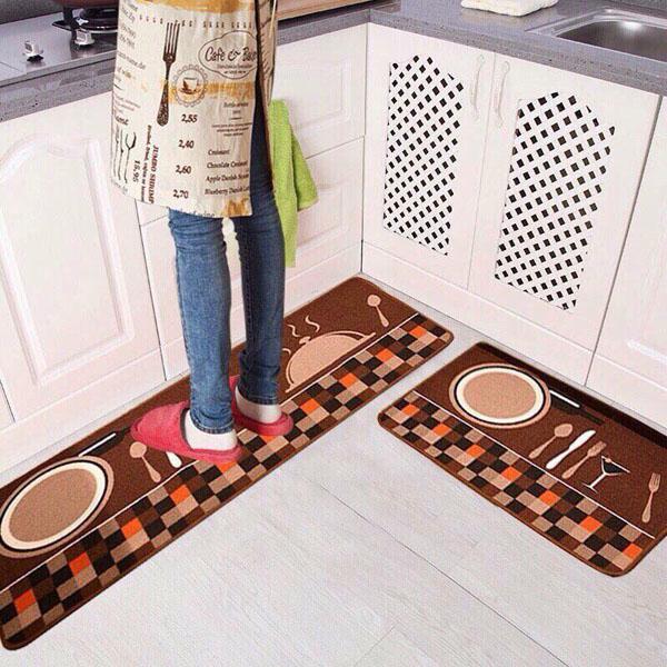 Thảm trải sàn nhà bếp tiện dụng