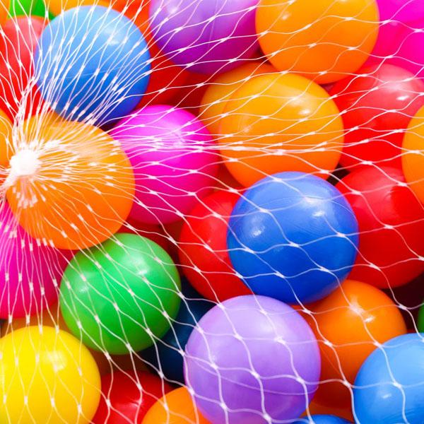 Bán sỉ túi 100 quả bóng nhựa cho bé