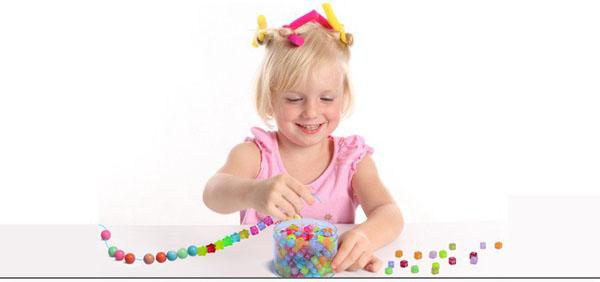 Bộ hạt xâu vòng đeo tay cho bé