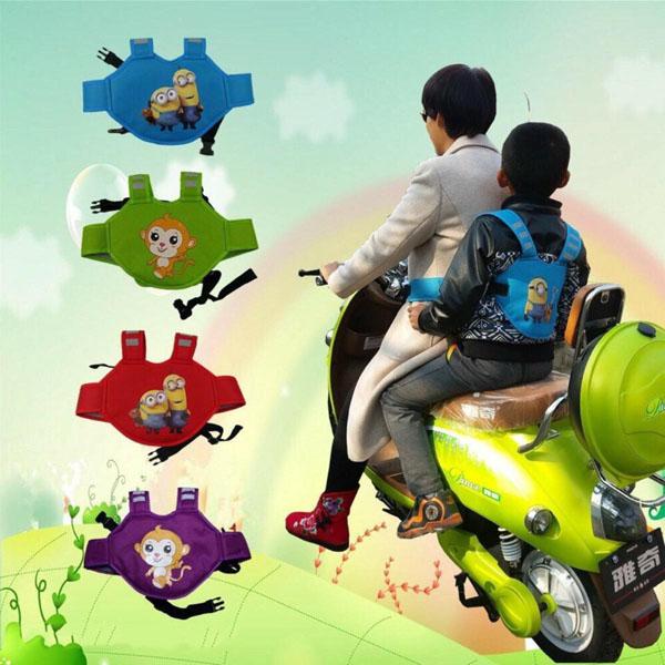 Đai xe máy 3d đa năng cho bé