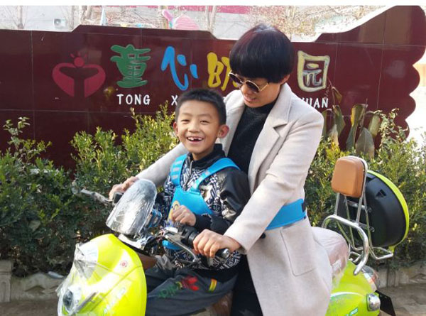 Bán sỉ đai xe máy 3d đa năng cho bé