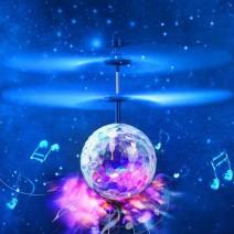 Quả cầu pha lê bay cảm ứng phát sáng