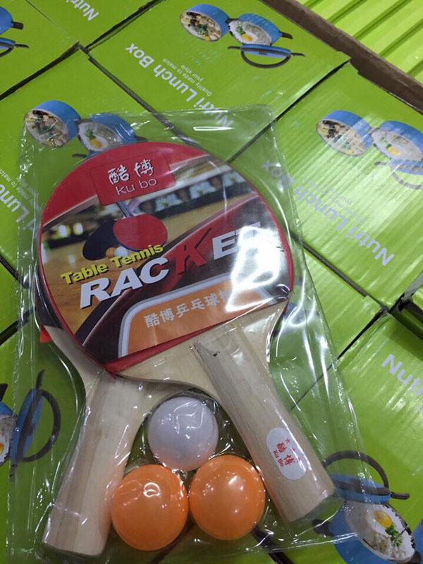 Bộ vợt bóng bàn kèm bóng Racket
