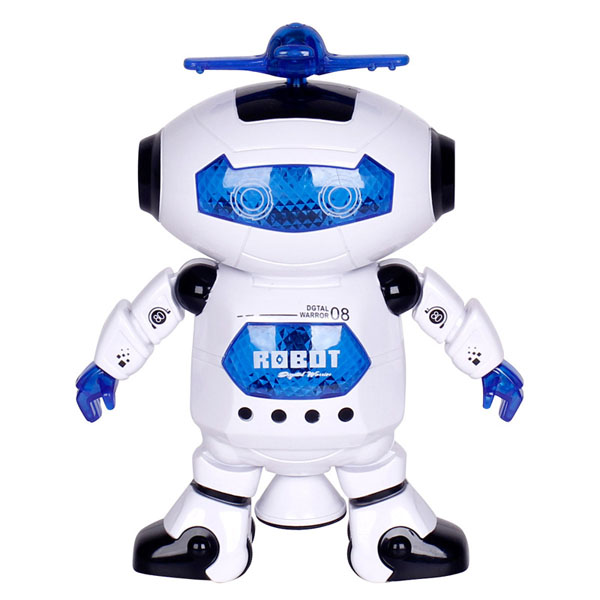 Bán sỉ đồ chơi robot nhảy múa xoay 360 độ