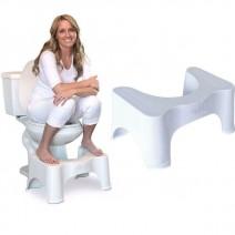 Ghế kê chân toilet , chống táo bón Chefman