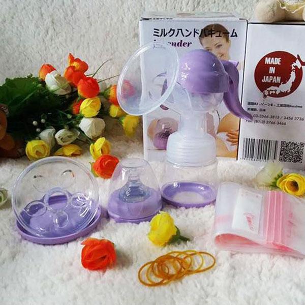 Máy vắt sữa bằng tay Lavender Nhật Bản