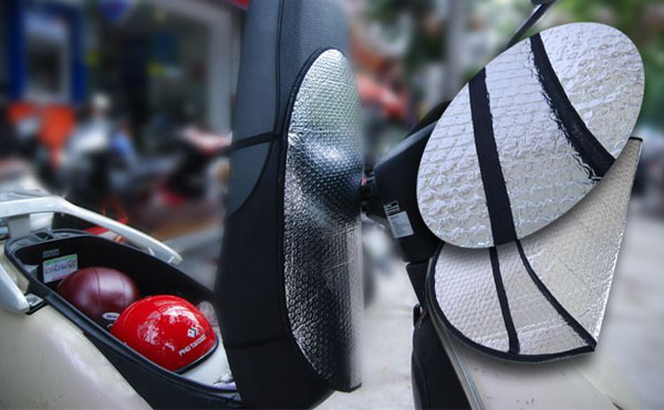 Bán sỉ tấm lót chống nóng yên xe máy