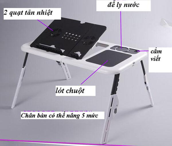 Bán buôn bàn để laptop đa chức năng E-Table