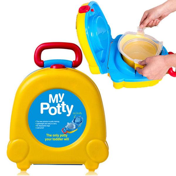Bô vệ sinh cầm tay cho bé My Potty