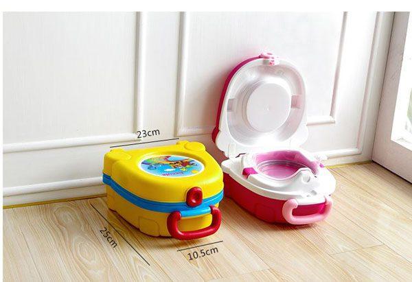 Bô vệ sinh xách tay Becute cho bé