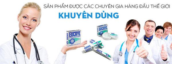 Bán buôn bột tẩy trắng răng Eucryl - Anh Quốc