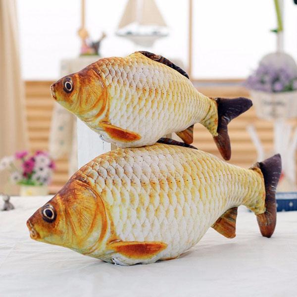Bán buôn gối ôm hình cá chép 3d độc đáo