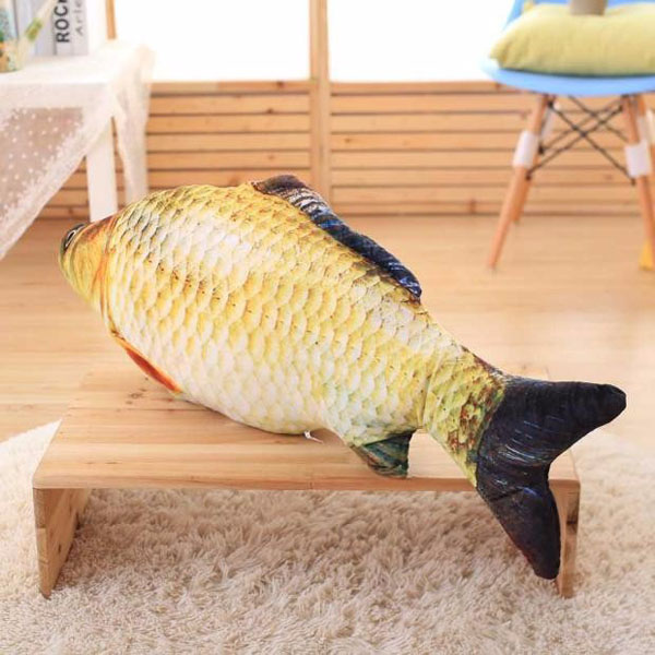 Bán sỉ gối ôm hình cá chép 3d độc đáo
