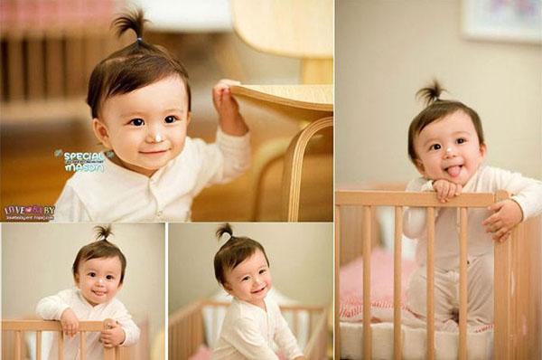 Hộp chun buộc tóc Hàn Quốc cho bé