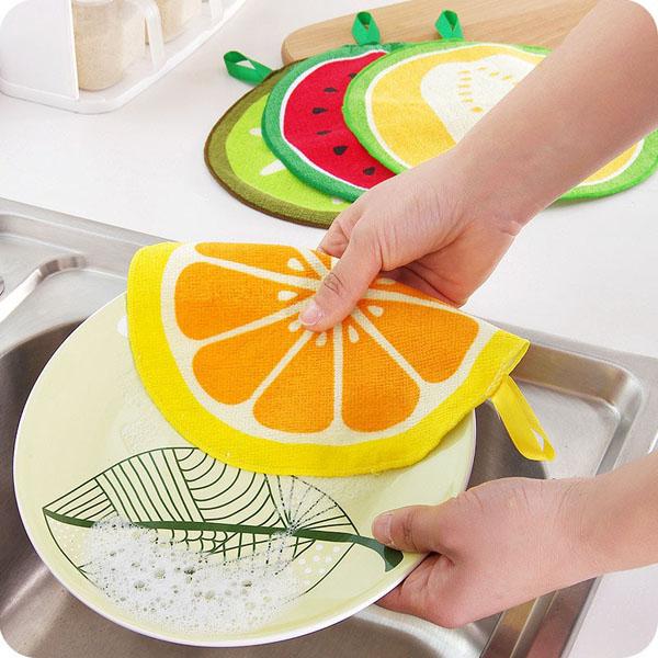 Khăn lau bếp hình hoa quả