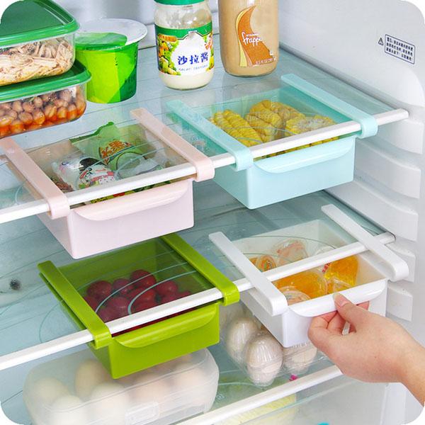 Khay kéo tủ lạnh để đồ thông minh