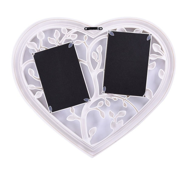 Bán buôn khung ảnh hình trái tim màu trắng tường