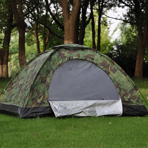 Lều trại du lịch phong cách quân đội